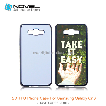 Diy sublimation blank case for Samsung On8/J710,sublimation cover