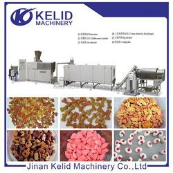 2016 hot sale high quality expanded pet food extruder making machine