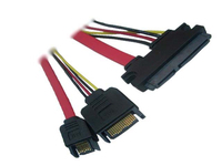 SATA Power Data Combine 7+15p SATA 22Pin Cable