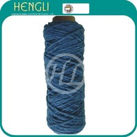 Ne1s/4ply open end recycle cotton/polyester/acrylic mop yarn