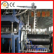 double wall HDPE corrugated pipe production line