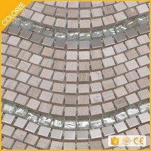 Customized Popular Style Mosaic Natural Shell