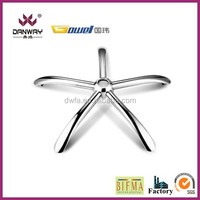 Chromed Iron steel base / office chair base IRM-M002