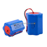 Cylindrical battery pack 18650 paralleled and series pack 5200mah 37V lithium polymer battery pack