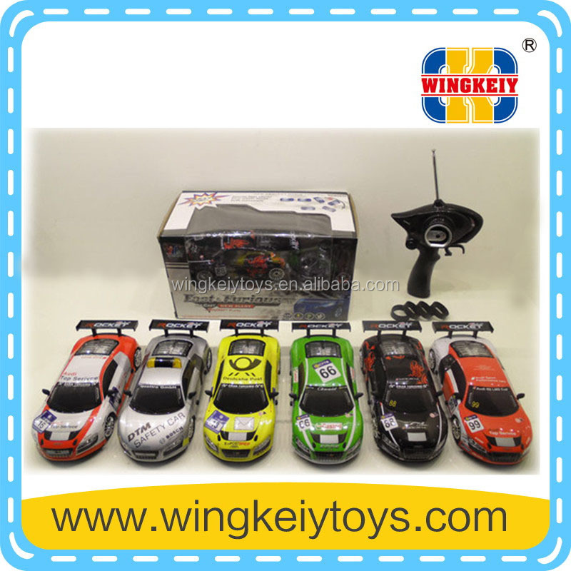 2015 1/24 4WD alloy drift car metal rc car