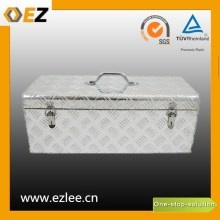 aluminium checker plate hand tool box for trailer