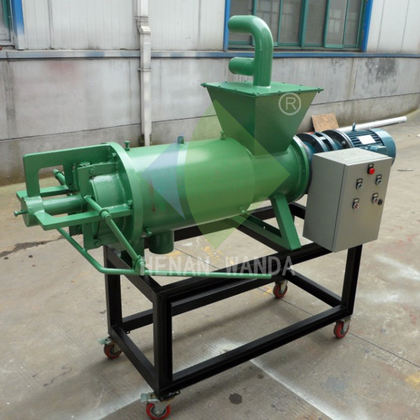 poultry farm dung separating machine/cow dung cleaning machine