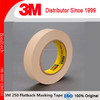 Scotch Flatback Masking Tape 250.Tan color , 0.15mm(6mils)