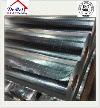 perforated heat sealing aluminum foil woven fabric insulation material