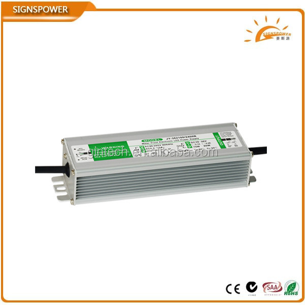 constant current 80w waterproof electronic led driver 2400ma with TUV CB ,GS MARK saa ctick