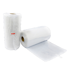 wholesale fashion disposable clear ldpe poly laundry suit garment packaging dry cleaning cover plastic bag for clothes on roll