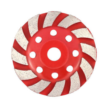 "4""inch 100mm Diamond Segment Grinding Wheel Bowl Shape Diamond Cup Wheel for Stone"