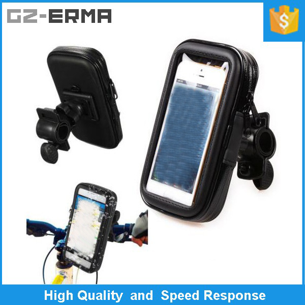 Bike Bicycle Waterproof Bag Pouch Phone Case Cover Handlebar Mount Holder for Samsung S5