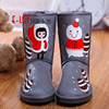 NO.U006G 2015 hot sales high quality and cheap winter snow boots for women