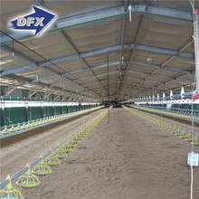 Prefabricated steel large-scale automatic poultry chicken farm building for Philippines