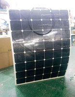 High power 200 w36v flexible solar panel Monocrystalline silicon Solar panels