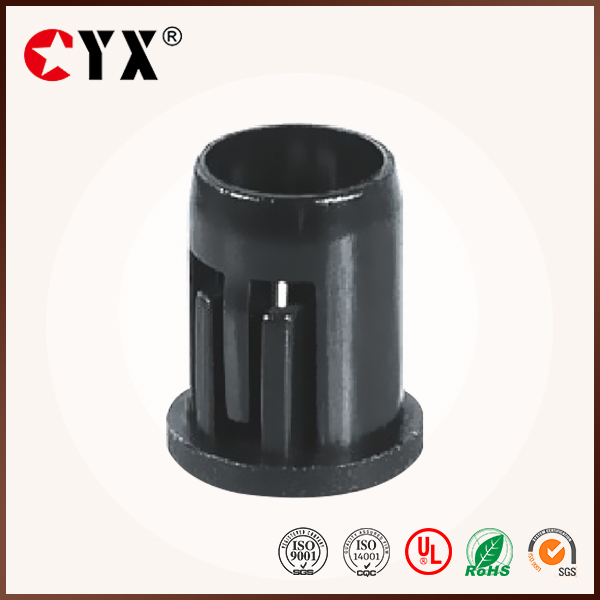 China supplier Black nylon 5 mm LED holder