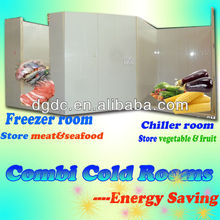 Combi Cold Rooms to store meat and vegetables