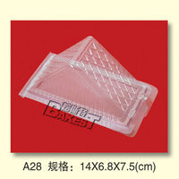 A28 BAKEST latest PVC plastic trays for cakes