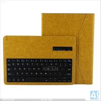 Hot new products for 2014 PU leather cover portable wireless mini bluetooth keyboard with usb port for ipad air P-APPIPD5PUKB004