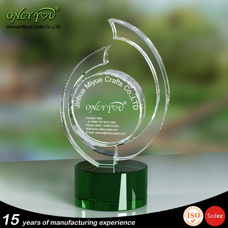Cheap Price Made In China Wholesale Crystal Trophy