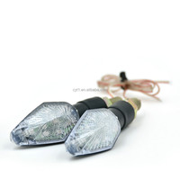 2W 9SMD LED Motorcycle Indicator Turn Signals Light Waterproof