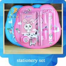 School student gifts creative design 8pcs pencil stationery set