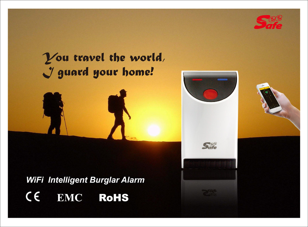 New arrival, WiFi intelligent burglar alarm