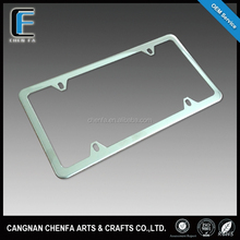 High quality USA size stainless steel license plate frame