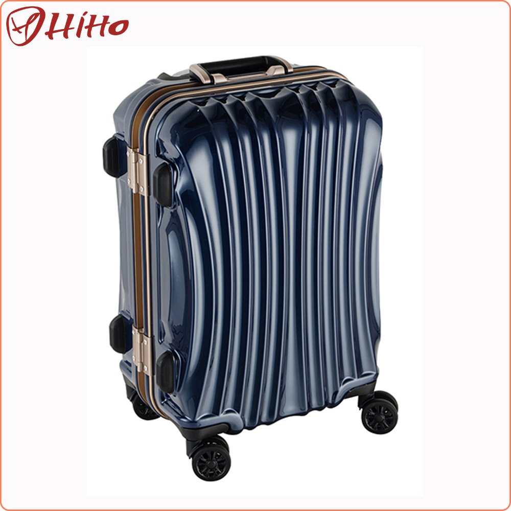 Colorful Aluminum ABS Trolley Luggage