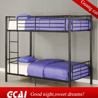 The latest design metal safety colorful bunk bed for kids