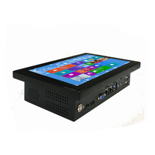 rugged 10inch industrial touch pc rs485 / rs232 aio computer