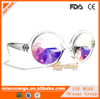 2016 sex custom logo unisex made in china kaleidoscope glasses