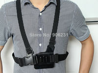 Adjustable Chest Body Harness Belt Strap Mount For Gopro HD Hero 1 2 3 Camera