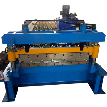 Trapezoidal IBR Color Steel Zinc Aluminium Roofing Sheet Making Machine
