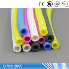 fashional color custom specifications smooth pvc medical flexible soft high temp resistant tube