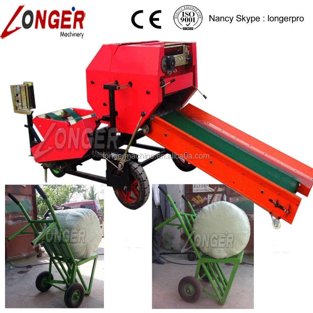 Automatic Silage Baler Machine/Silage Baler and Wrapper Machine