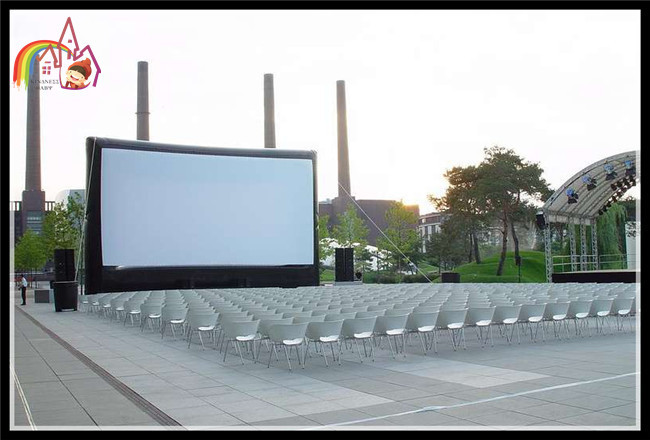 NEW Open Air Cinema Inflatable Home Theater Projection Screen