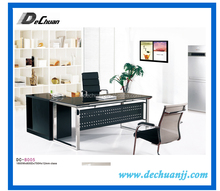 Foshan shunde furniture tempered glass executive office desk for sale