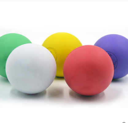 100% rubber massage ball,mix color lacrosse ball