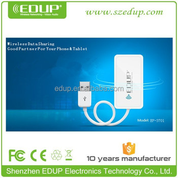 EDUP EP-3701 NEW USB wifi external hard disk for iPhone & android device external disk, file transfering
