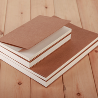 Wholesale A5 Notebook Kraft Paper Plain