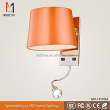 Modern popular stainless steel wall lamp/wall lamp