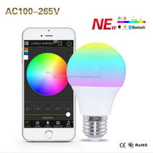 4.5W Bright RGBW Wireless Bluetooth Smart LED Light Bulb
