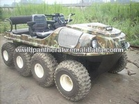 Gas hunting buggy, 8 wheel drive, CE approved