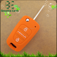 Silicone case for hyundais car remote key silicone case