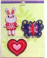 custom kids designer embroidered patches machine embroidery