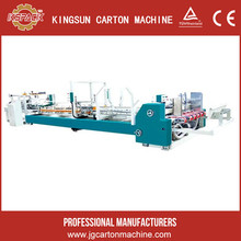 dongguang xulin 4 color fully automatic corrugated cardboard gluer folder machine for sale