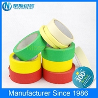 High quality strong adhesion paper masking tape, masking tape car painting