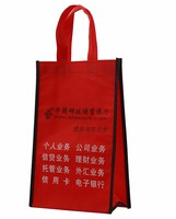 Wholesale factory price metallic promotional non woven bag